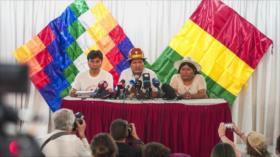 Morales arremete contra Áñez por 'violencia contra países hermanos'