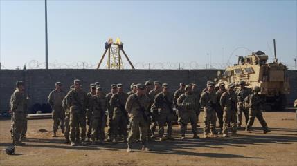 Fuerzas de EEUU hieren a 60 iraquíes cerca de embajada en Bagdad