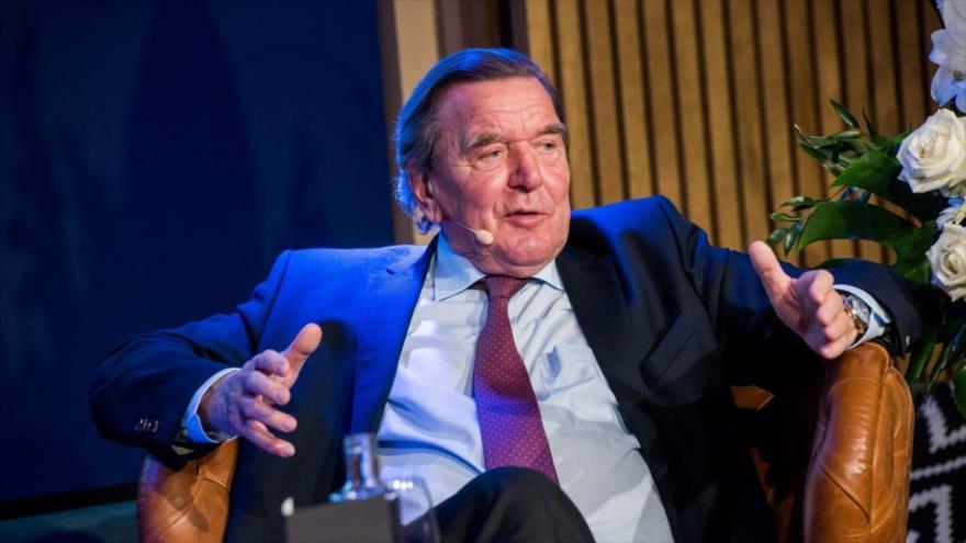 El presidente del Consejo de Administración del gasoducto Nord Stream 2, Gerhard Schröder.