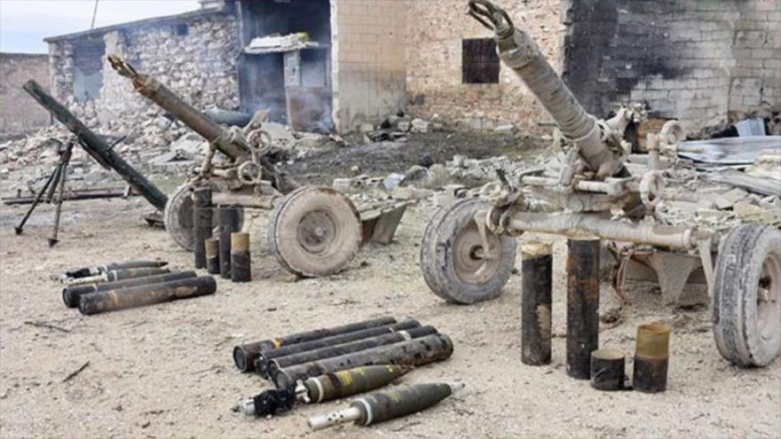 Ejército sirio incauta drones y armas de EEUU en Idlib | HISPANTV