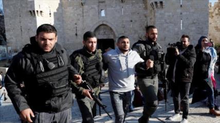 Israel detiene a varios altos funcionarios palestinos en Al-Quds
