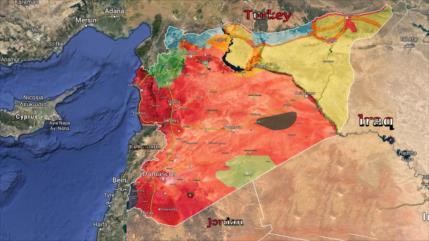 Vídeo: ¿Cómo evolucionó el mapa geopolítico de Siria en 2019?