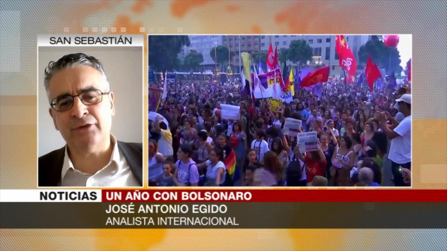 Egido: Bolsonaro llegó al poder mediante uso sesgado de justicia