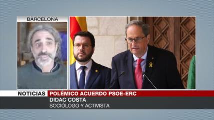 Costa: Pacto entre ERC y PSOE no fracturará el Govern de Cataluña