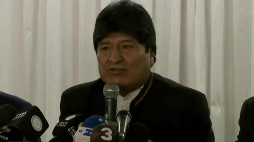 """Morales tacha de """"terrorismo"""" persecuciones del gobierno de Áñez"""