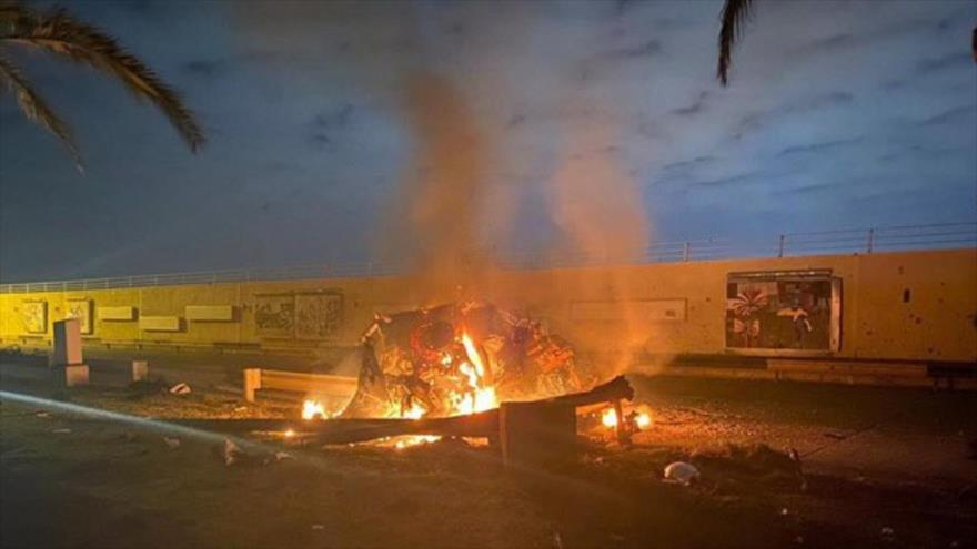 EEUU bombardea aeropuerto de Bagdad y mata a militares iraquíes | HISPANTV