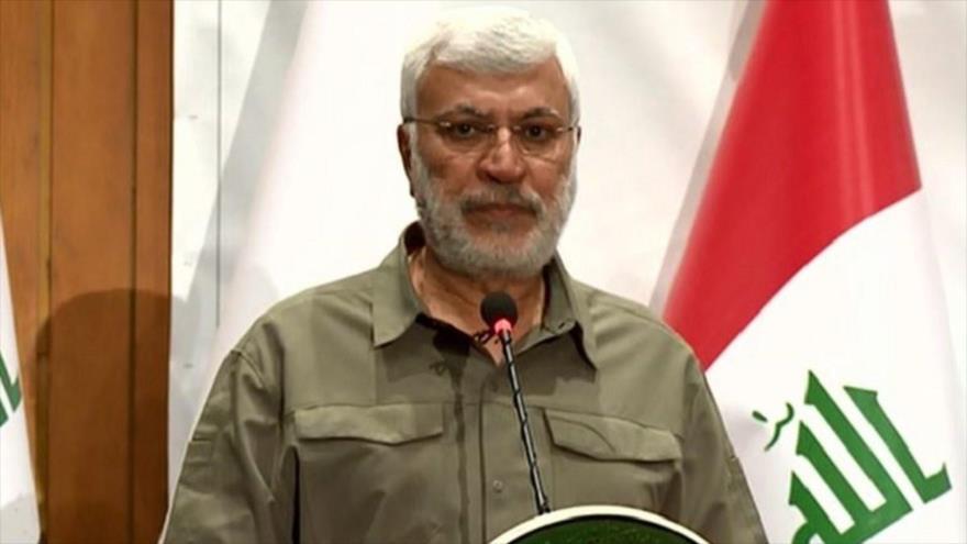 El subcomandante de Al-Hashad Al-Shabi, Abu Mahdi al-Mohandes.