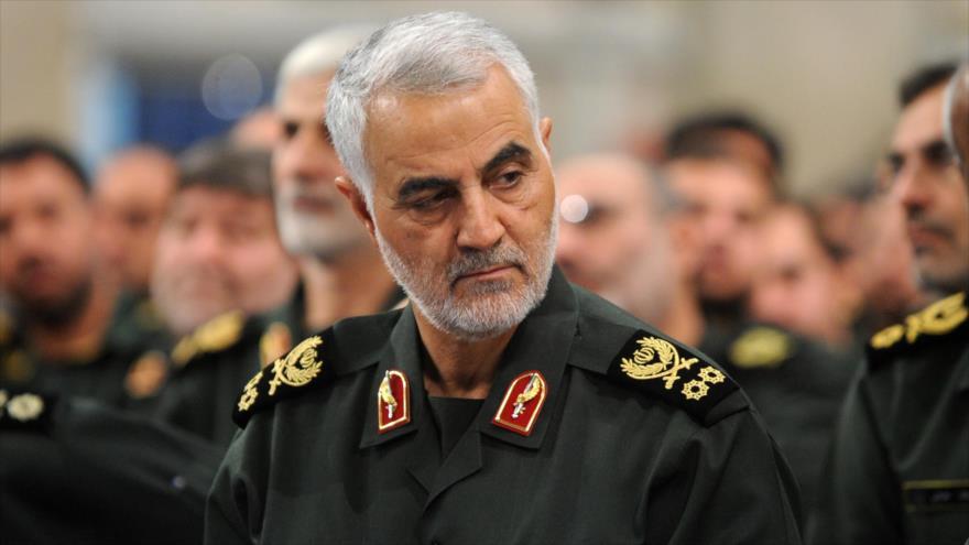 El comandante de las Fuerzas de Quds del Cuerpo de Guardianes de la Revolución Islámica (CGRI) de Irán, el general Qasem Soleimani.