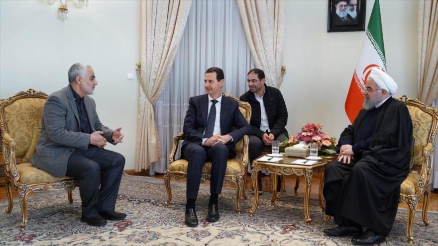 "Al-Asad: Siria nunca olvidará al general ""estelar"" Qasem Soleimani | HISPANTV"