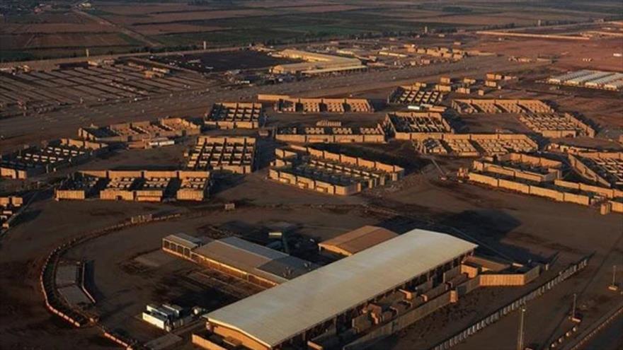 La base aérea de Balad, en la provincia central iraquí de Salah al-Din que alberga a las fuerzas de EE.UU.