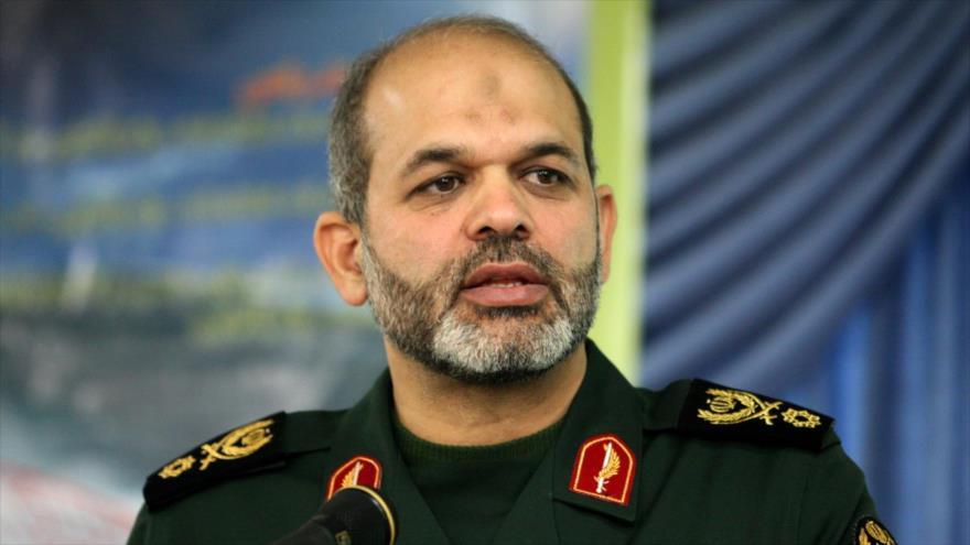 El general Ahmad Vahidi, el excomandante de las Fuerzas de Quds y también el jefe de la Universidad superior de defensa nacional.