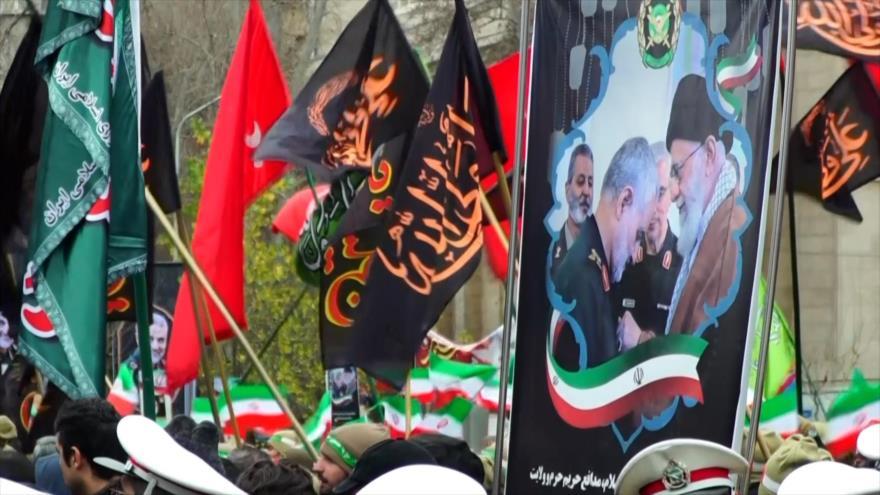 Iraníes protestan por 2.º día contra el asesinato de Soleimani