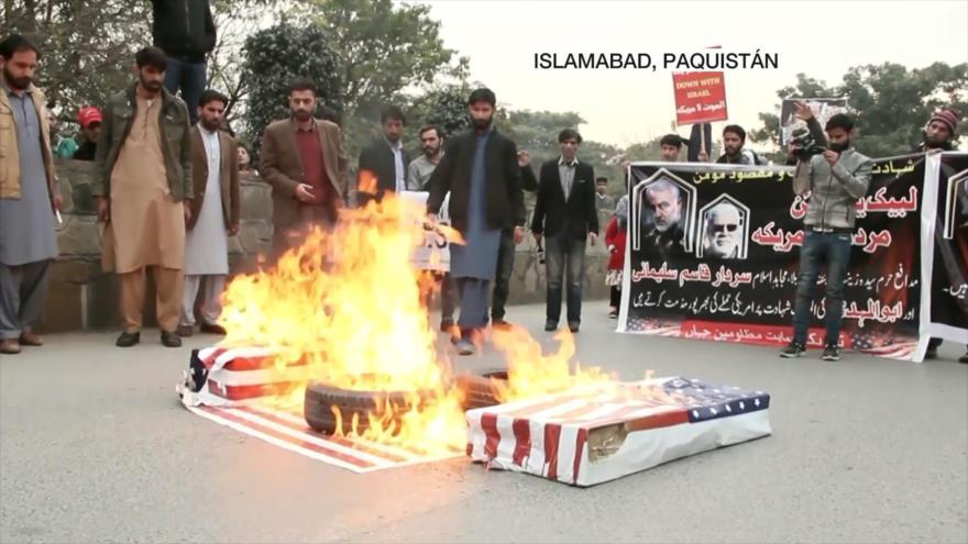 Asesinato de Soleimani ha provocado la ira de musulmanes en Asia | HISPANTV