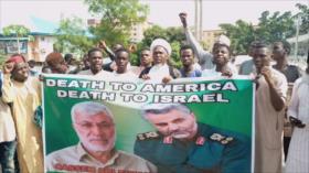 Nigerianos condenan el asesinato de Soleimani por EEUU