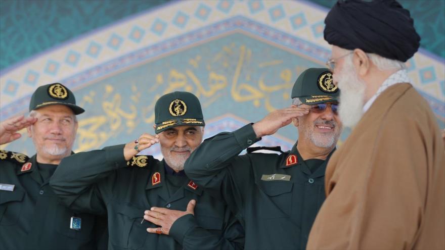 Lucha contra arrogancia mundial, foco de discursos de Soleimani