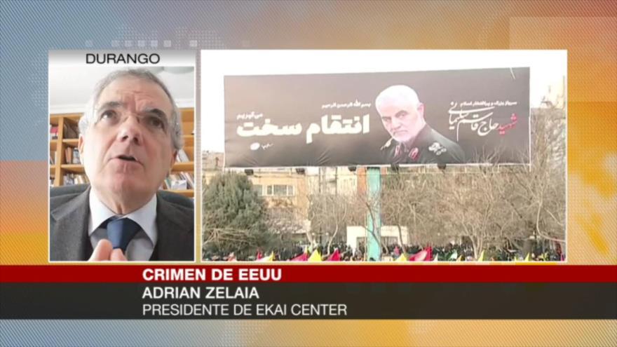 Zelaia: Lógicamente, Irán tiene que responder a EEUU
