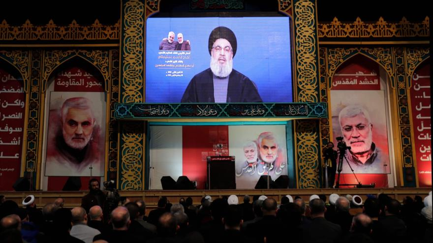 Nasralá pide vengar el asesinato del general Soleimani por EEUU   HISPANTV