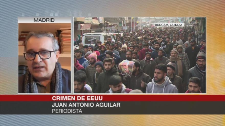 Aguilar: EEUU busca eliminar a altos mandos de la Resistencia