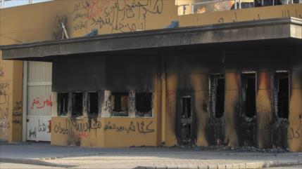 Dos cohetes impactan cerca de embajada de EEUU en Irak