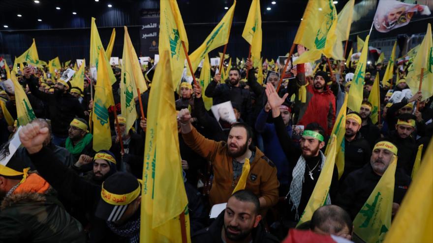 Nasralá amenaza a EEUU: Sus soldados volverán a casa en ataúdes