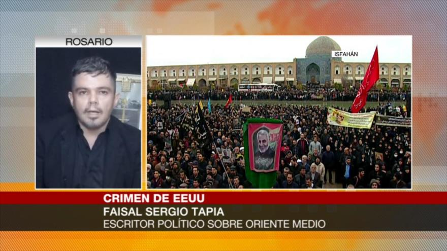 Sergio Tapia: Asesinato de Soleimani unifica frentes de resistencia