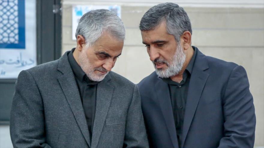 Irán culminará venganza de Soleimani eliminando a EEUU de la región