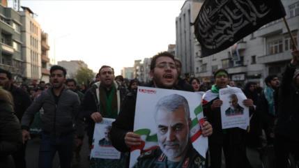 Irán: EEUU pronto sufrirá la venganza del mundo islámico