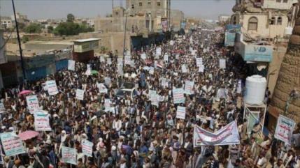 Yemeníes se manifiestan en condena del asesinato de Soleimani