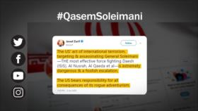 Etiquetaje: Terrorismo de EEUU; Asesinan a general iraní Qasem Soleimani