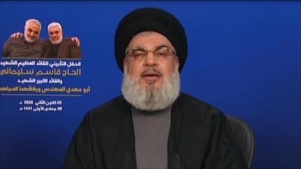 Nasralá: Qasem Soleimani es toda la Resistencia en la región