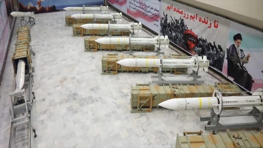 Misiles iraníes de defensa aérea Sayyad-3, 22 de julio de 2017.
