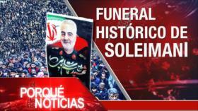 El Porqué de las Noticias: Unidad entre el pueblo iraní. Reacciones al asesinato de Soleimani