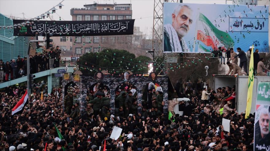 Irán da un merecido adiós a su héroe teniente general Soleimani   HISPANTV