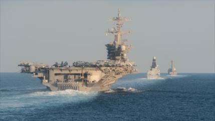 EEUU alerta a sus buques de un ataque relámpago de Irán