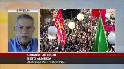 """Almeida: EEUU es el """"gran terrorista de la humanidad"""""""