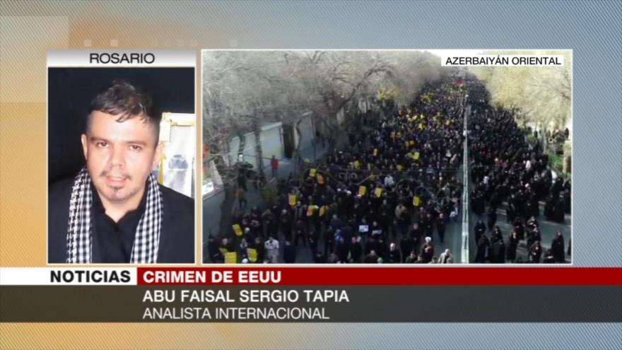 Sergio Tapia: Iraníes dan una respuesta contundente al imperialismo