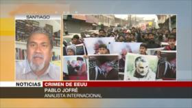 Pablo Jofré: EEUU se inventa planes para cometer asesinatos