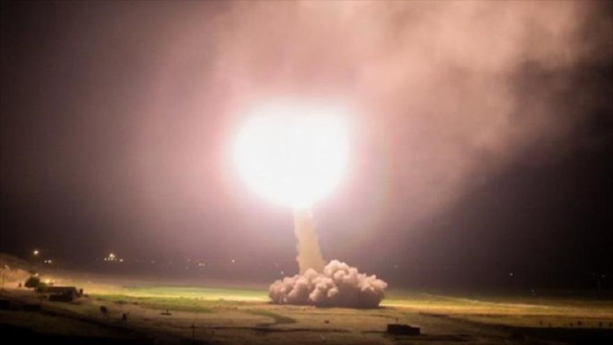 Irán ataca con misiles una base aérea de EEUU en Irak