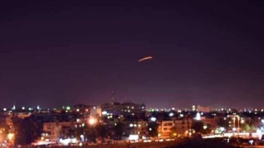 Un cohete alcanza la base aérea de EEUU en Erbil, Irak, 7 de enero de 2020.