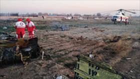 Un avión civil ucraniano se estrella cerca de Teherán
