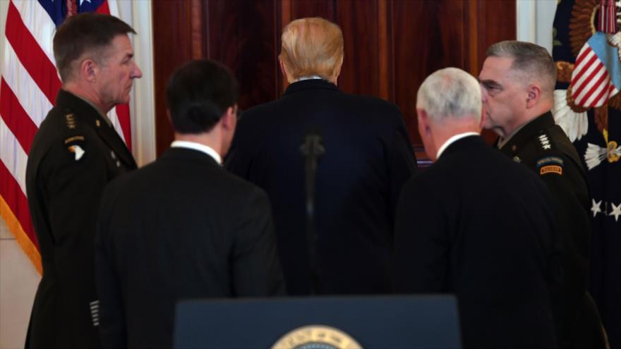 Trump cambia de tono y enarbola la bandera blanca ante Irán | HISPANTV