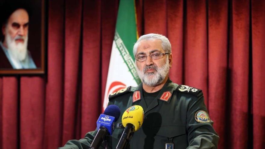 El portavoz jefe del Estado Mayor de las Fuerzas Armadas de Irán, el general de brigada Abolfazl Shekarchi