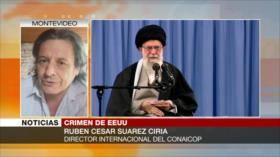 Suárez Ciria: Donde pisa EEUU hay violación y saqueo