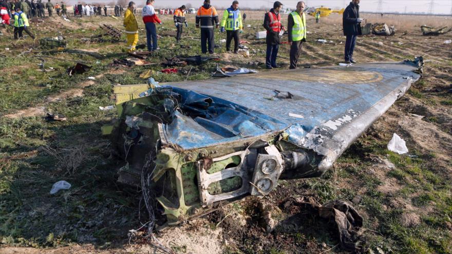Irán refuta 'rumores ilógicos' sobre derribo del avión ucraniano | HISPANTV