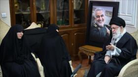 """Líder iraní revela algo de Soleimani que lo """"sabía bien"""" el enemigo"""