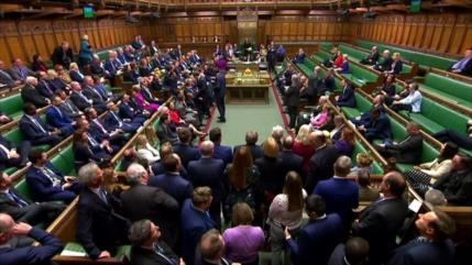 Diputados británicos aprueban el acuerdo del Brexit