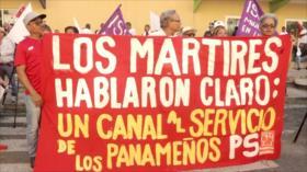 Panameños reafirman su soberanía rindiendo honor a los mártires