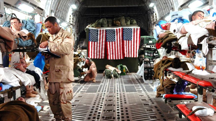 Vuelo secreto evacua a fuerzas heridas de EEUU en ataque de Irán | HISPANTV