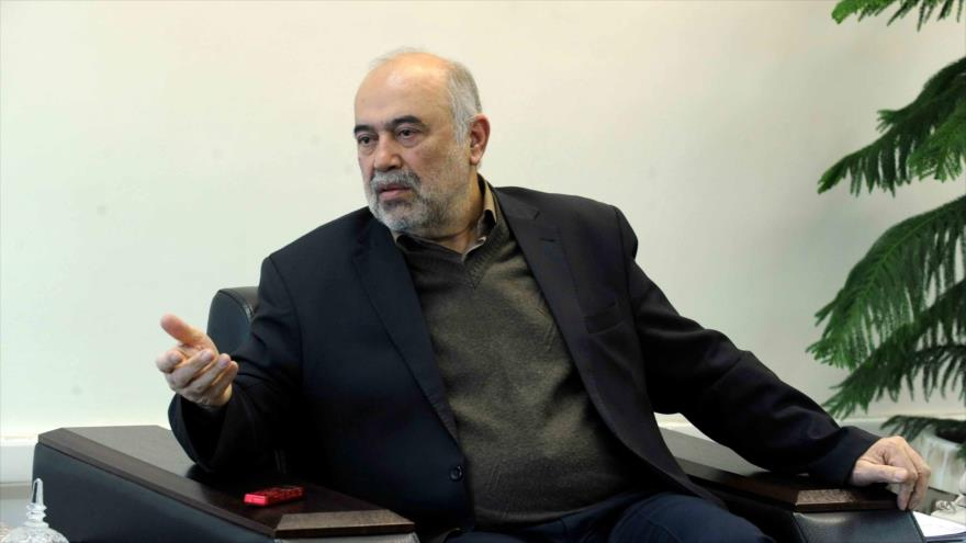 El jefe de la Organización de Aviación Civil de Irán, Ali Abedzadeh.