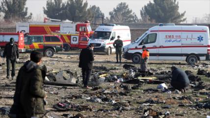Rusia: No hay pruebas para culpar a Irán por avión siniestrado